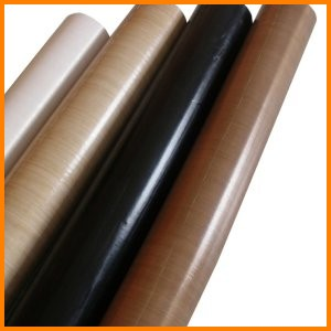 PTFE resin coated fiberglass fabric non stick high temperature chemical resistant